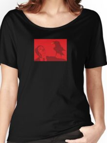 Red on Red Women's Relaxed Fit T-Shirt
