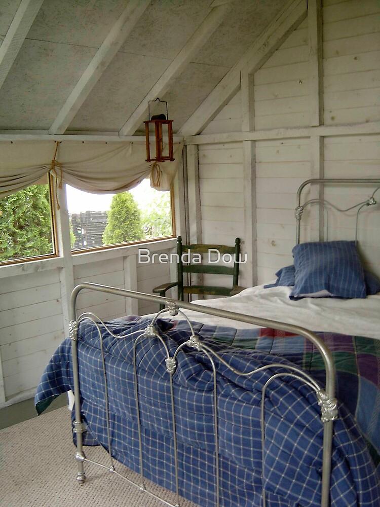Summer Sleeping Quarters by Brenda Dow