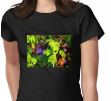 Springtime Maple Forest Womens Fitted T-Shirt