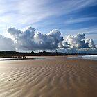 Clouds on Aberdeen Beach by Panalot