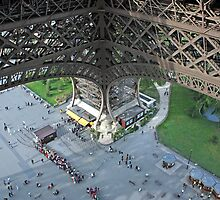 View from Eiffel Tower by longaray2