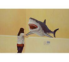 White Shark III (Girl) Photographic Print