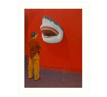 White Shark IV (Trophy) Art Print