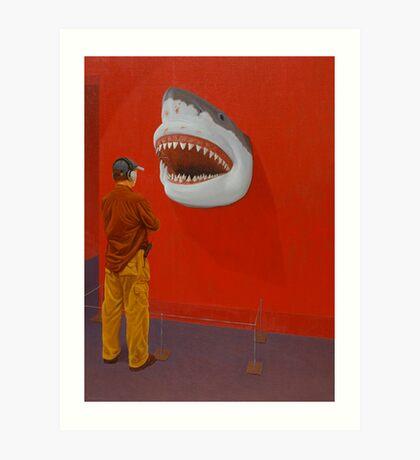 White Shark IV (Trophy) Art Print