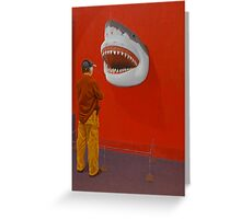 White Shark IV (Trophy) Greeting Card