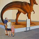 Study for Museum II (T-Rex) by Jason Moad