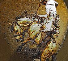 Bareback Bucker by Al Bourassa