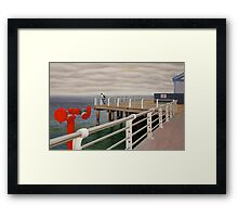 Fear of the Sea II Framed Print