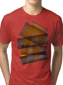 Funky lady (orange) Tri-blend T-Shirt