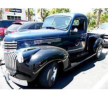 1945 Chevy 1/2 ton Pickup Photographic Print