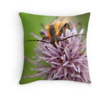 Stop to Smell the Flower Throw Pillow