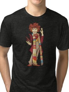 The Fourth Doctor [Who] Tri-blend T-Shirt