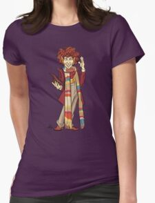 The Fourth Doctor [Who] Womens Fitted T-Shirt