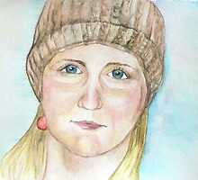Housemate with One Earring by Jacqui Coote