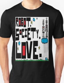 Robot Society Love T-Shirt