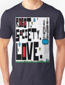 Robot Society Love T-Shirt