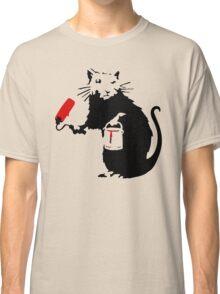 Banksy Rat Classic T-Shirt