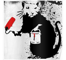 Banksy Rat Poster