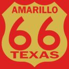 ROUTE 66-AMARILLO TEXAS by OTIS PORRITT
