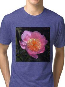 Pink Anemone Peony Tri-blend T-Shirt