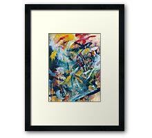Clash Framed Print
