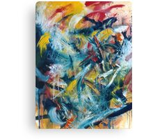 Clash Canvas Print