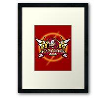 Sonic Boom Framed Print