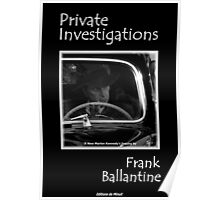 Private Investigations, The Book Poster