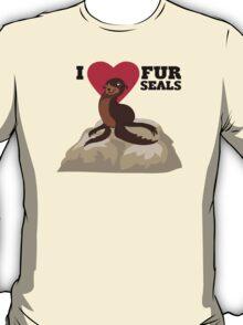 Love Fur Seals T-Shirt