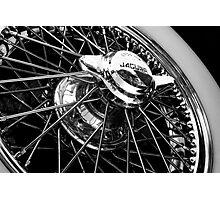 Chrome Rim Photographic Print