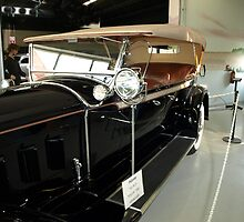 Charles Lindberg's 1927 Packard - 2 by Barry W  King