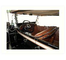 Charles Lindberg's 1927 Packard - 3 Art Print
