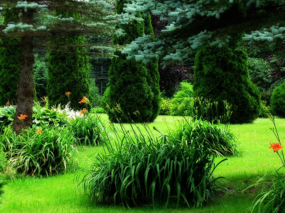 Greenscape by L J Fraser