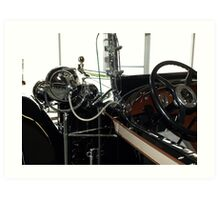 Charles Lindberg's 1927 Packard - 4 Art Print