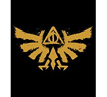 Hyrule Potter & The Deathly Triforce Photographic Print