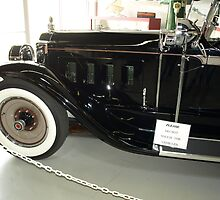 Charles Lindberg's 1927 Packard - 6 by Barry W  King
