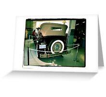 Charles Lindberg's 1927 Packard - 7 Greeting Card