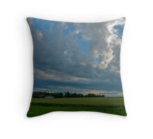 The Last Light Of The Day Throw Pillow
