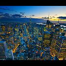 The City That Never Sleeps by Dominic Kamp