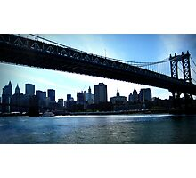 :: Water Under the Bridge :: Photographic Print