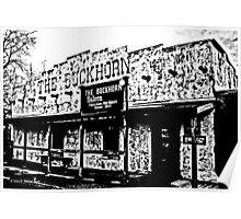 Buckhorn Saloon Poster
