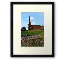 Rural Chrch Framed Print