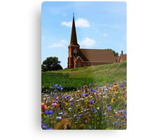 Rural Chrch Metal Print