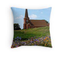 Rural Chrch Throw Pillow