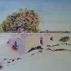 Eucla Telegraph Station Ruins by Kay Cunningham