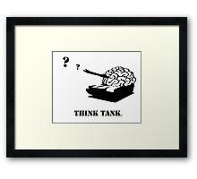 THINK TANK Framed Print