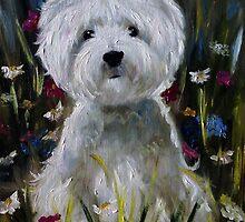 Wildflowers by marysparrowart