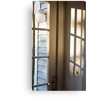 Door To The Porch Canvas Print