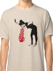 Banksy Love Sick Classic T-Shirt