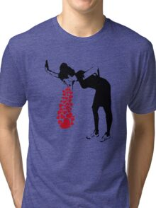 Banksy Love Sick Tri-blend T-Shirt